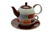 Tea for one Diogo-CHA CULT- Hand-Painted Ceramic