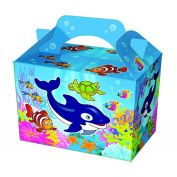 10 x Sealife Design Lunch / Party Boxes