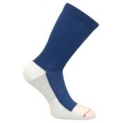 Caresox CS 0156-20 Leg Constriction Free Crew Compression Drystat Socks Navy - Large