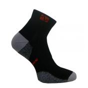 Vitalsox VT 0213T Tennis Extra Padding Drystat Compression Socks Black - Large