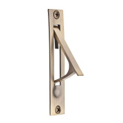 Baldwin 9BR7012-006 Matte Brass and Black 8.7cm . Edge Pull