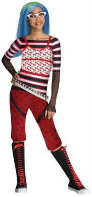 Costumes for all Occasions RU881361LG Mh Ghoulia Yelps Child Lg