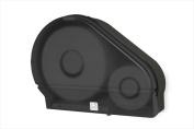 E-Z Taping System RD0024-02 23cm . Single Jumbo Tissue Dispenser with Stub in Black