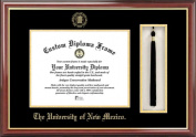 Campus Image NM999PMHGT University of New Mexico Tassel Box and Diploma Frame