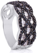 Doma Jewellery MAS02095-7 Sterling Silver Ring with Cubic Zirconia - Size 7