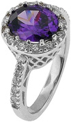 Doma Jewellery MAS02380-5 Sterling Silver Ring with Cubic Zirconia - Size 5