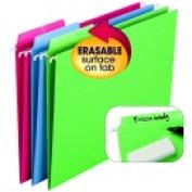 Smead 0.33 Cut Erasable Hanging Folder Pack 18