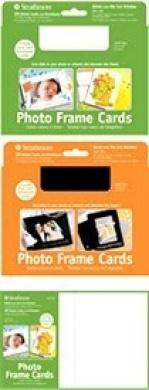 Art Supplies 105185 Photoframe Cards White 10 Pack
