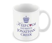 Keep Calm Mug - and Watch Jonathan Creek