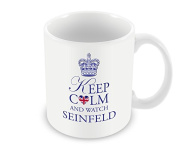 Keep Calm Mug - and Watch Seinfeld