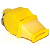 OlympiaSports WH084P Fox 40 Sonik Blast CMG Whistle - Yellow