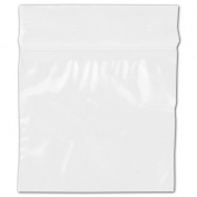 Deluxe Small Business Sales 02-0303D 7.6cm . x 7.6cm . x 2 mil Reclosable Polyethylene Bags Clear