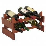 Wooden Mallet WR42MH 8 Bottle Dakota Wine Rack