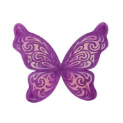 Just Pretend Kids JPWNG-FLT-PUR-OS Flutter Wing - Purple & Fuchsia