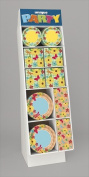 Unique Industries 40704 148 Pieces Paperware T Display