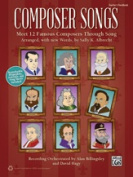 Alfred 00-41673 COMPOSER SONGS-BK