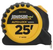 Johnson Level & Tool 1804-0025 2.5cm . x 7.6m Auto Lock Power Tape Measure