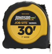 Johnson Level & Tool 1805-0030 2.5cm . x 9.1m Power Tape Measure