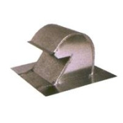 Ll Building Products GNV10 25cm . Galvanised Goose Neck Vent