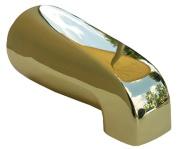 Larsen Supply 08-1103 Polished Brass Universal Bath Tub Spout