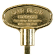 Blue Flame NKY.8.02 20cm . Universal Key Polish Brass