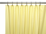 Carnation Home Fashions USC-4-12 4 Gauge Vinyl Shower Curtain Liner Yellow