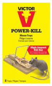 Woodstream M142S Power Kill Mouse Trap 2 Pack