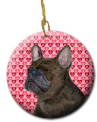 Carolines Treasures SS4519CO1 7.1cm x 7.1cm . French Bulldog Ceramic Ornament