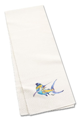 Carolines Treasures 8350TR60 150cm . Blue Marlin Table Runner