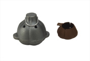 Bull Outdoor Products 24214 Cast Iron Garlic Roaster & Squeezer Set