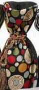 Joann Marie Designs IBT6X15CIR Printed Wine Bag - Circles Pack of 12