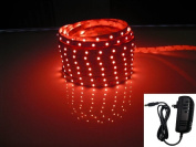 LED2020 LD-SP-R-WR-SET Plug-N-Play Waterproof Red LED Flexible Light Strip