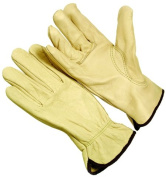 Seattle Glove 4364-L Top Grain Cowhide Drivers Glove Large - Pack of 12