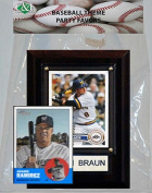 Candlcollectables 46LBBREWERS MLB Milwaukee Brewers Party Favour With 4 x 6 Plaque