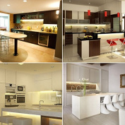 LED Strip Light Set / Kitchen Lighting Package, Warm White Colour, Simple Plug & Play System, Select Required LED Strips Quantity, Great Affordable Packages for Kitchen Lighting, Under Cabinet Lights, Plinth Lights, Etc
