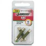Jandorf Specialty Hardw Fuse Abc 10A Fast Acting 60606