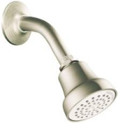Cleveland Faucet Group 140503 Showerheadarm & Flange Brushed Nickel Water Saving 1.75 Gpm