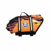 Paws Aboard F1100 Doggy Life Jacket XXS Flames