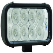 Vision X Lighting 4007581 15cm . Xmitter LED Bar Black 8 3w LEDs Flood