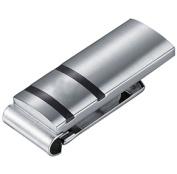 Visol VMC737 Rafael Carbon Fibre Stainless Steel Engravable Money Clip