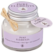 Pure Elements Natural Cosmetics Chi Hyaluronic Anti-Ageing Night Cream with Lotus Extract 50 ml
