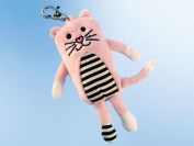 Rudolph Schaffer Crazy Pets Cat Keyring Soft Toy