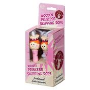 Tobar Wooden Princess Skipping Rope