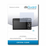 3 x disGuard Crystal Clear Screen Protector for Nikon 1 J5 / 1 J-5 / 1J5 - PREMIUM QUALITY