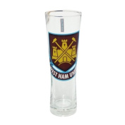 West Ham United F.C. Peroni Tall Beer Pint Glass