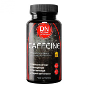 Deluxe Nutrition Caffeine 200mg Tablets Tub - Pack of 200