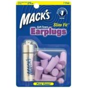 Macks Slimfit Earplugs + FREE Aluminium key Fob