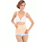 Museya Breathable Elastic Postpartum Postnatal Recovery Support Girdle Belt Belly Waist Slimming Shaper Band - Size M