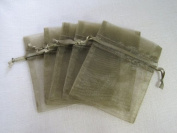 MyCraftSupplies Premium Organza Bags 20cm x 30cm 10-Pack for Gifts, Storage