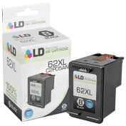 LD Remanufactured Replacement . . . For For Hewlett Packard C2P05AN / HP 62XL HY Black Ink Cartridge for HP ENVY 5640, 5642, 5643, 5644, 5646, 5660, 7640, 7645, OfficeJet 57